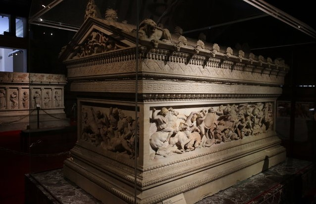 гробница Александра Македонского