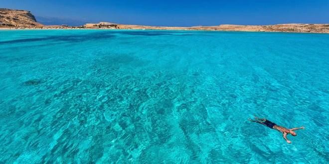 Эгейское море Греции