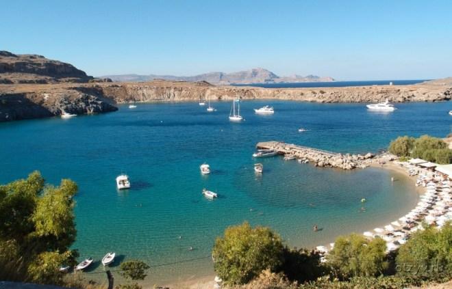 бухта Линдос - Греция