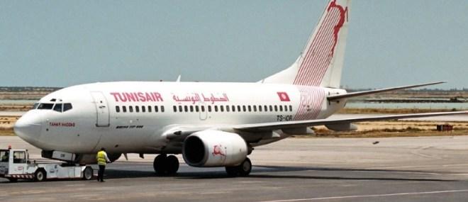 самолет в Тунис