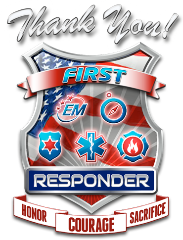 Welcome to Thank You First Responder #ThankYouFirstResponder