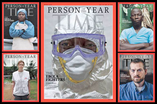 First Responder Ebola Fighters are TIME's 2014 Person of the Year #ThankYouFirstResponder