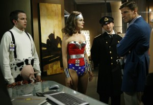 Another reason to love her: she loves Wonder Woman, and owns her own Wonder Woman costume. / Courtesy Fox