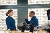 "BONES: Emily Deschanel and guest star Eugene Byrd in the ""The Promise in the Palace"" episode of BONES airing Thursday, Nov. 12 (8:00-9:00 PM ET/PT) on FOX. ©2015 Fox Broadcasting Co. Cr: Jennifer Clasen/FOX"
