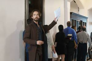 "SLEEPY HOLLOW: Ichabod Crane (Tom Mison) in the ""Blood & Fear"" episode of SLEEPY HOLLOW airing Thursday, Oct. 15 (9:00-10:00 PM ET/PT) on FOX. ©2015 Fox Broadcasting Co. CR: Tina Rowden/FOX"
