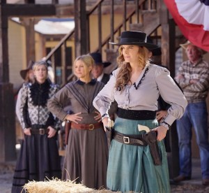"BONES:  Emily Deschanel in the first part of the two-hour ""The Cowboy in the Contest/The Doom in the Boom"" fall finale episode of BONES airing Thursday, Dec. 10 (8:00-10:00 PM ET/PT) on FOX.  ©2015 Fox Broadcasting Co.  Cr:  Jennifer Clasen/FOX"