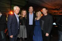THE X-FILES PREMIERE EVENT: (L-R) Creator/Executive Producer Chris Carter, Fox Television Group Chairmen and CEOs Dana Walden and Gary Newman, and cast members Gillian Anderson and David Duchovny during THE X-FILES Premiere Party at the California Science Center on Tuesday, Jan. 12 in Los Angeles, CA, sponsored by Ford. THE X-FILES premieres with a special two-night event beginning Sunday, Jan. 24 (10:00-11:00 PM ET/7:00-8:00 PM PT), immediately after the NFC CHAMPIONSHIP GAME, and continuing with its time period premiere on Monday, Jan. 25 (8:00-9:00 PM ET/PT) on FOX.  CR: Frank Micelotta/FOX