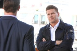 "BONES: David Boreanaz in the ""The Final Chapter: The Grief and the Girl"" episode of BONES airing Tuesday, Feb. 21 (9:01-10:00 PM ET/PT) on FOX. ©2017 Fox Broadcasting Co. Cr: Patrick McElhenney/FOX"
