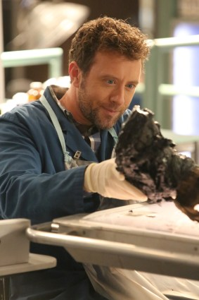 "BONES: TJ Thyne in the ""The Final Chapter: The Radioactive Panthers in the Party"" episode of BONES airing Tuesday, March 14 (9:01-10:00 PM ET/PT) on FOX. ©2017 Fox Broadcasting Co. Cr: Patrick McElhenney/FOX"