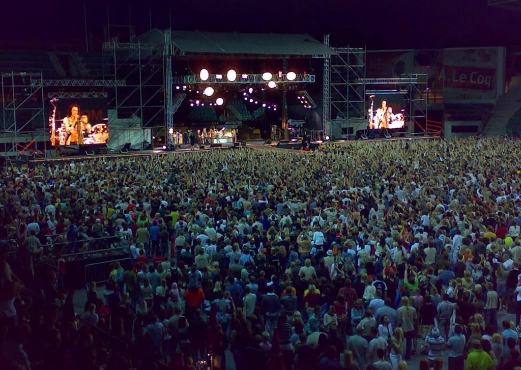 AEROSMITH - WORLD TOUR 2007: A.Le Coq ARENA, Tallinn, Estonia