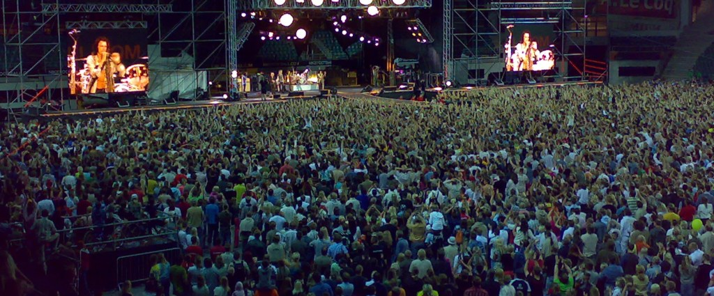 AEROSMITH - WORLD TOUR 2007: A.Le Coq ARENA, Tallinn, Estonia