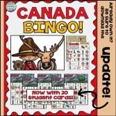 Canada BINGO by That Fun Reading Teacher