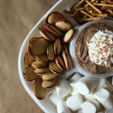 hot chocolate dip rubbermaid