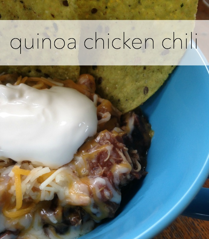 quinoa chicken chili