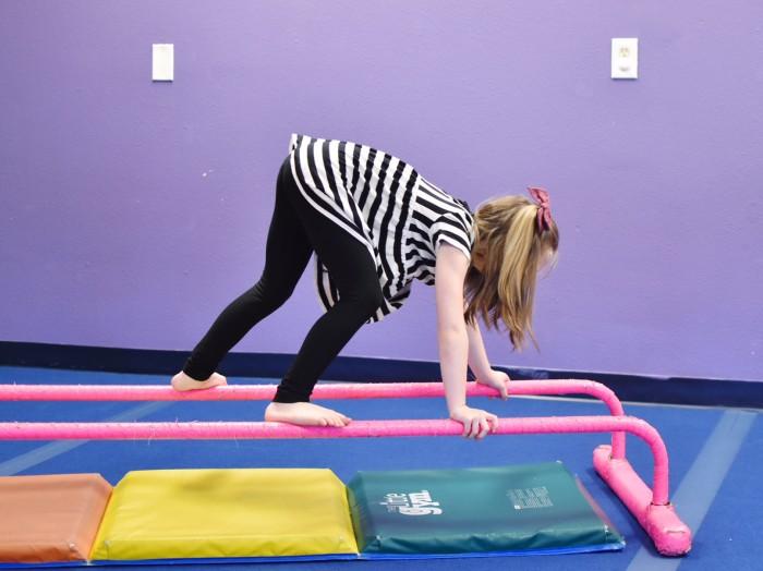 The Little Gym - bear crawl