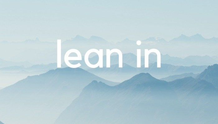 Word of the Year: Lean In