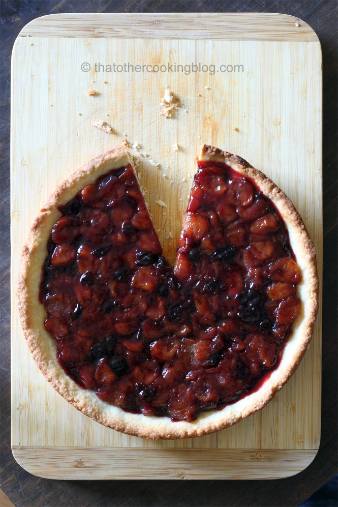 Apple and Black Currant Tart