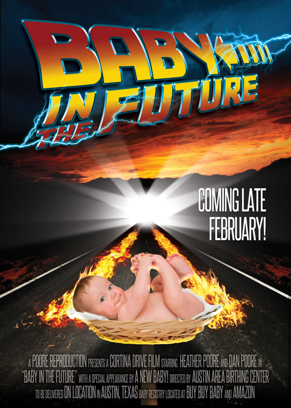 Baby in the Future - That Poore Baby Pregnancy Announcement