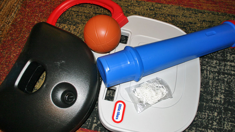 Little Tikes EasyScore Basketball Set Unboxing