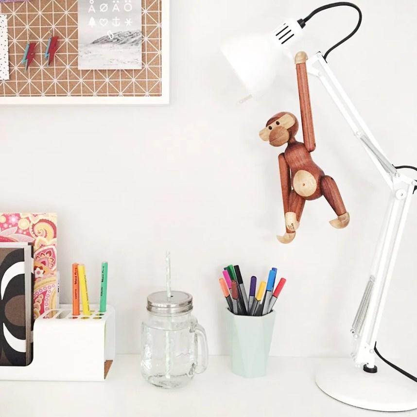 ingridesign_desk space kay bojesen monkey