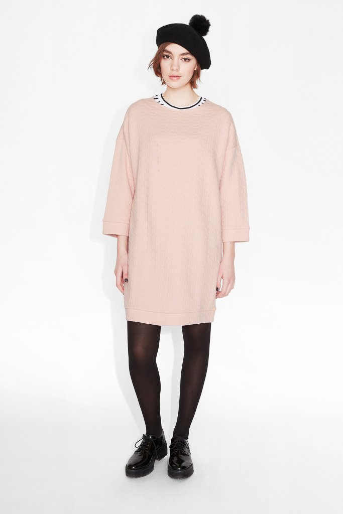 Stina pink dress Monki