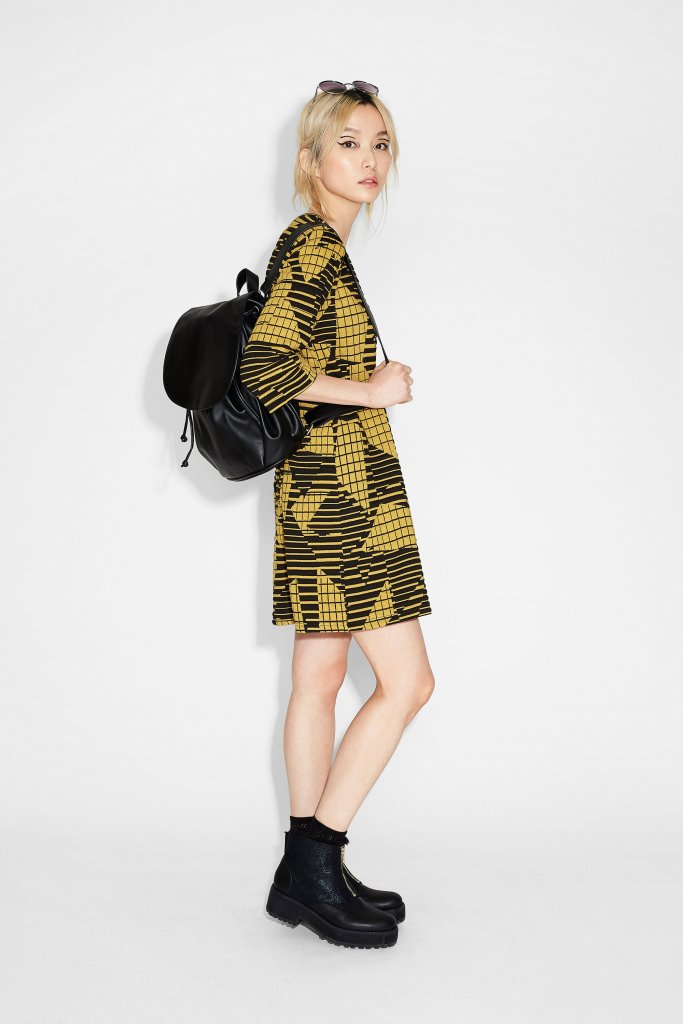 Anita jaquard dress Monki