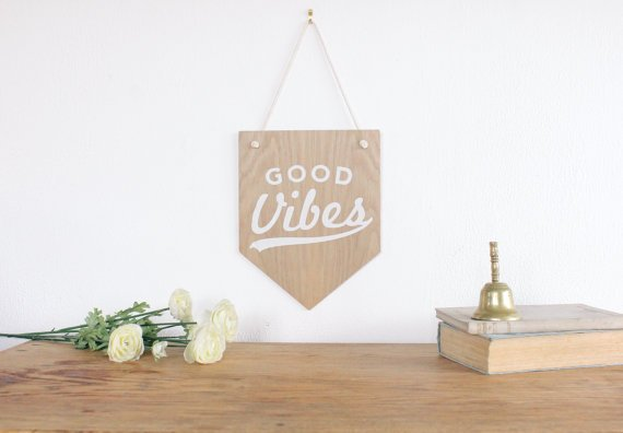 ThingsWeLeftBehind_good vibes_banner_flag_etsy