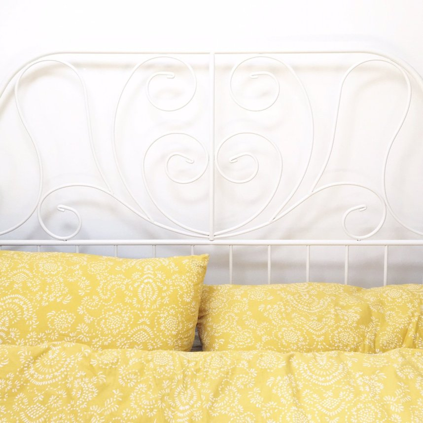 my scandinavian home_bed_yellow