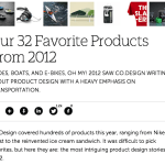 32 Products from 2012 That Someone Else Thinks Are Great – Part 1