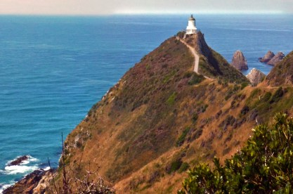 Nice view of Lighthouse guarding Nugget Point