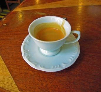 Espresso in a Tea Cup??