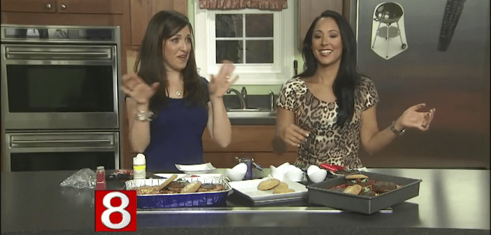 Burgers on the Grill Chocolate Chip Cookie Cake *As Seen on CT Style News 8*