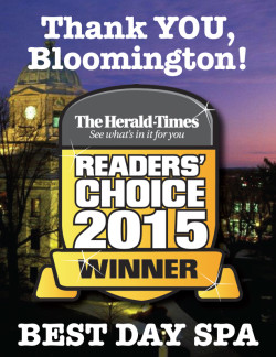 Readers' Choice Bloomington's Best Day Spa