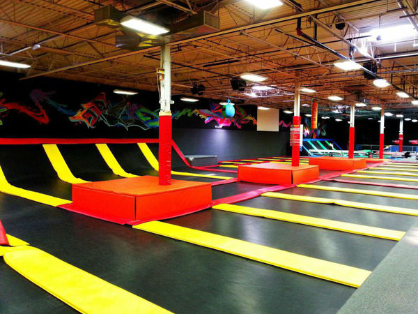 Image result for flight trampoline park