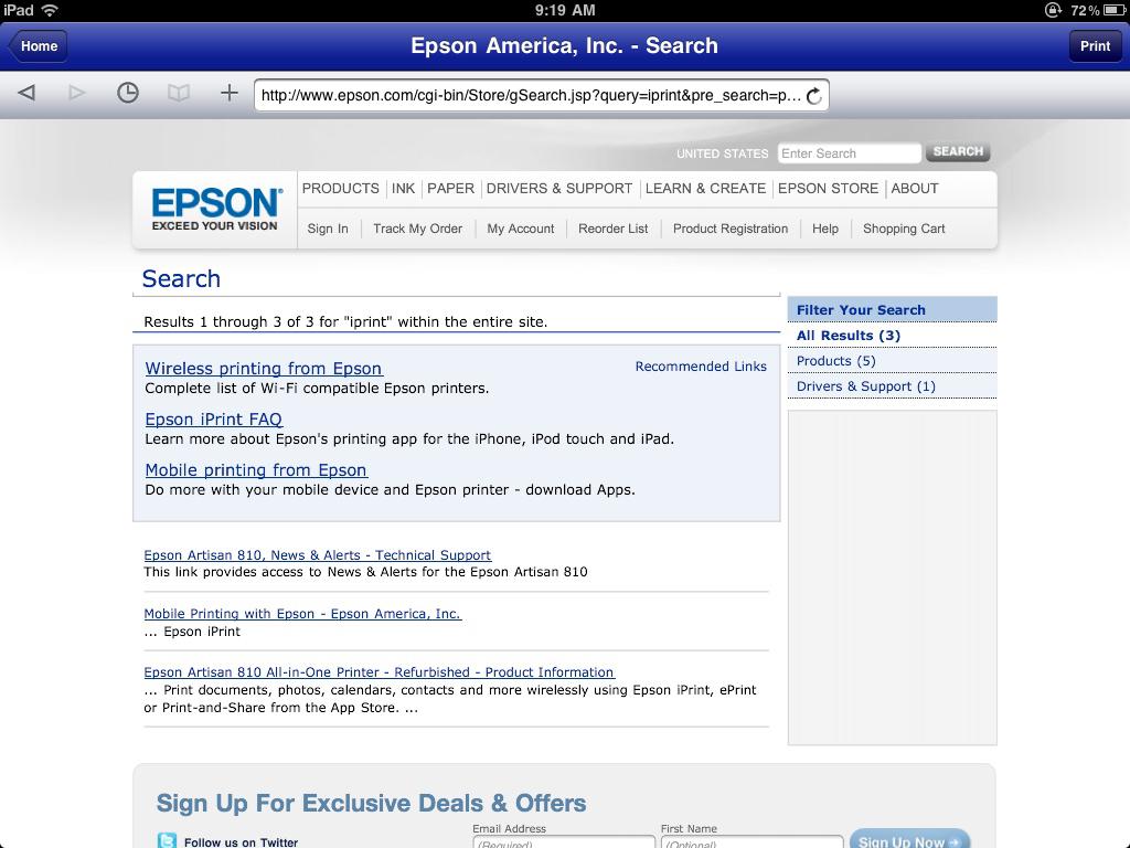 Calmly Ipad Ios Review Gadgeteer Epson Artisan 810 Driver Web Epson Iprint App dpreview Epson Artisan 810 Driver