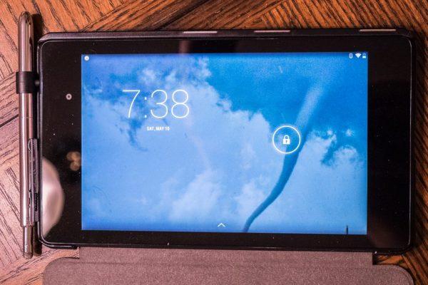 20) Headphone Jack Holder Nexus 7 Open