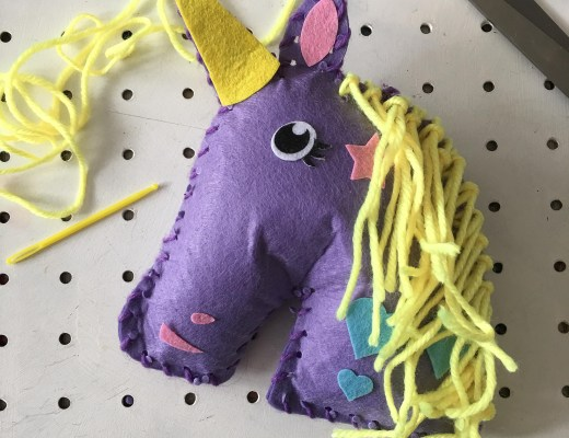 how to sew a unicorn