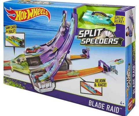 Hot Wheels Split Speeders Trackset