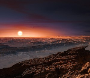 Artist's impression of newly discovered planet, Proxima b. Image Credit:   European Southern Observatory via Flickr (CC by 2.0 license)