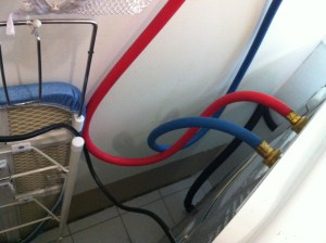 Who would believe that new hoses on a washing machine could cause illness?