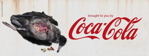 Coca Cola, Listen up: We've Had a Gut-full of your Rubbish!