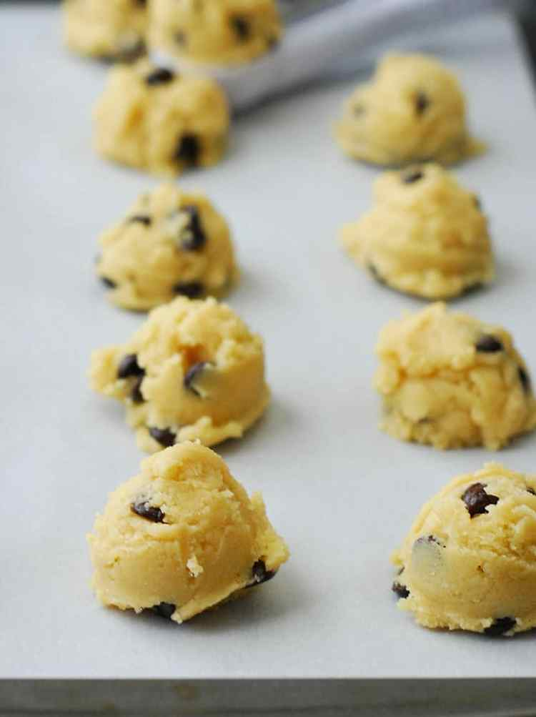 Chocolate Chip Cookies - simple, tasty and totally grain free and sugar free.
