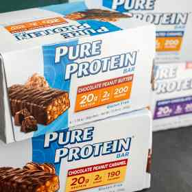 Pure Protein's tasty and easy to enjoy protein products include protein bars, shakes and powders.