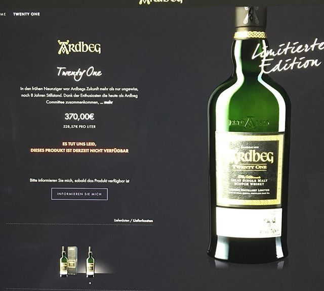 Wow. Sold out within 45 minutes. Who was successful? Who will open a bottle? Mine's going to the stash!