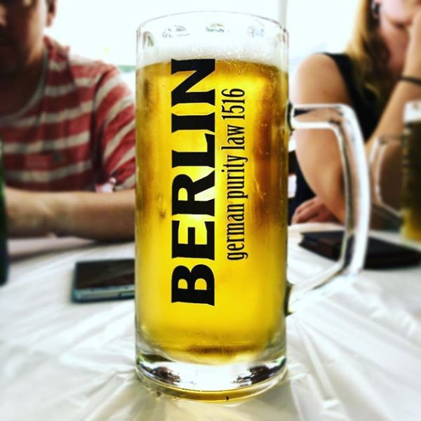 Ein lokales Bier aus Griechenland das sich Berlin nennt. Seltsam? @bierbotschafterhamm weißt du was darüber?