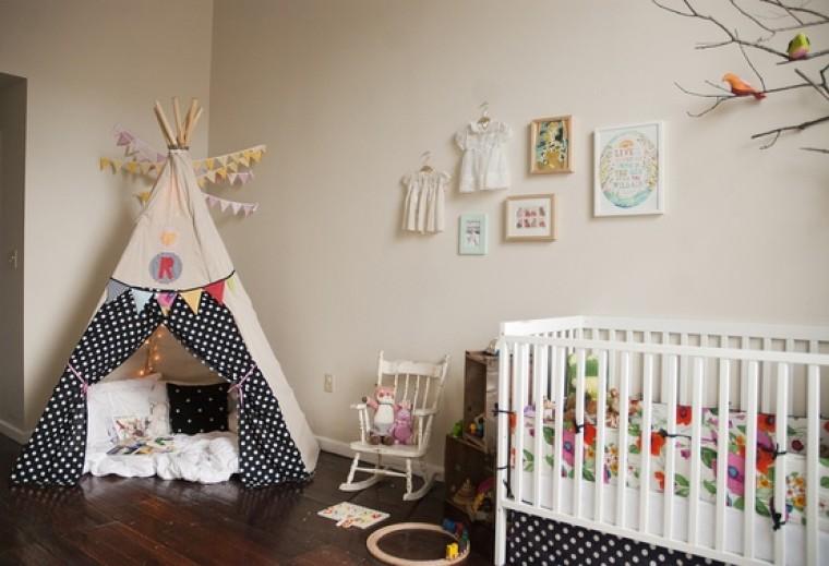 Создаём уют в детской: шалаш