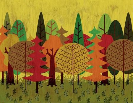 30 вдохновляющих иллюстраций: уют осени