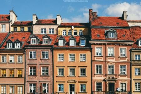 Тысячи цветных домиков: Варшава Екатерины Волковой