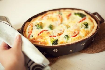 Готовим вместе: французский открытый пирог киш