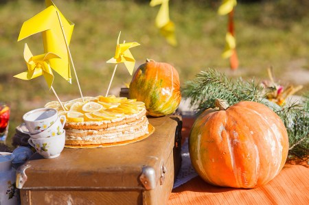 Осенний праздник: день рождения Артема